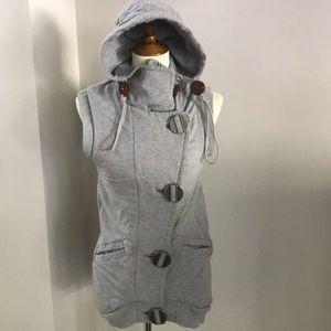 L.A.M.B Sweatshirt/Fleece Sleeveless Hoodie